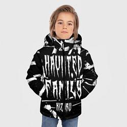 Куртка зимняя для мальчика KIZARU - HAUNTED FAMILY цвета 3D-черный — фото 2