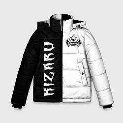 Куртка зимняя для мальчика KIZARU цвета 3D-черный — фото 1