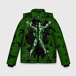 Куртка зимняя для мальчика The Riddler цвета 3D-черный — фото 1