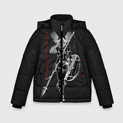 Куртка зимняя для мальчика Vikings цвета 3D-черный — фото 1