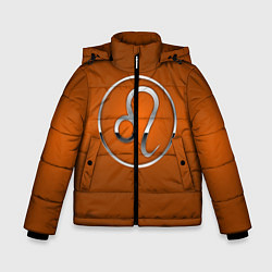 Куртка зимняя для мальчика Leo Лев цвета 3D-черный — фото 1