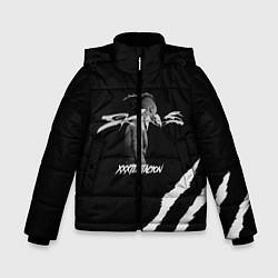 Куртка зимняя для мальчика XXXTENTACION SKINS цвета 3D-черный — фото 1
