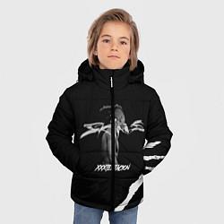 Куртка зимняя для мальчика XXXTENTACION SKINS цвета 3D-черный — фото 2