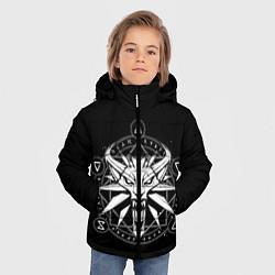 Куртка зимняя для мальчика The Witcher цвета 3D-черный — фото 2