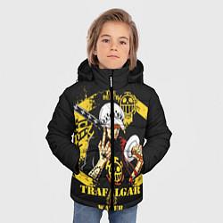 Куртка зимняя для мальчика One Piece Trafalgar Water цвета 3D-черный — фото 2