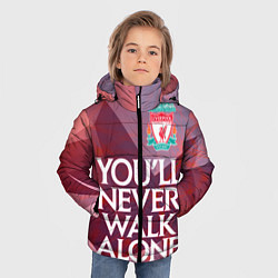 Куртка зимняя для мальчика Ливерпуль цвета 3D-черный — фото 2