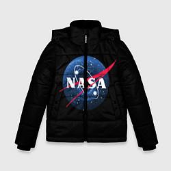 Куртка зимняя для мальчика NASA Black Hole цвета 3D-черный — фото 1