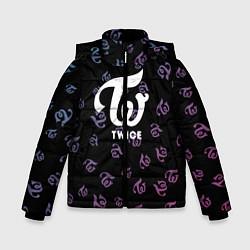Куртка зимняя для мальчика Twice цвета 3D-черный — фото 1