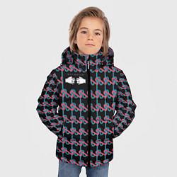 Куртка зимняя для мальчика Black mask цвета 3D-черный — фото 2