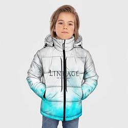 Детская зимняя куртка для мальчика с принтом LINEAGE 2, цвет: 3D-черный, артикул: 10202647706063 — фото 2