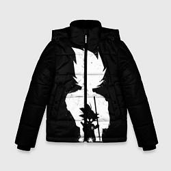 Куртка зимняя для мальчика Mini Dragon Ball цвета 3D-черный — фото 1