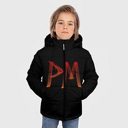 Куртка зимняя для мальчика Пэйтон Мурмайер цвета 3D-черный — фото 2