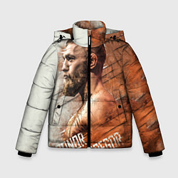 Куртка зимняя для мальчика McGREGOR цвета 3D-черный — фото 1
