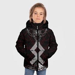 Куртка зимняя для мальчика Один цвета 3D-черный — фото 2