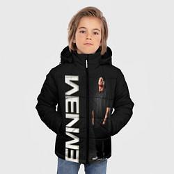 Куртка зимняя для мальчика EMINEM цвета 3D-черный — фото 2