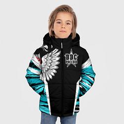 Куртка зимняя для мальчика ВВС России Камуфляж цвета 3D-черный — фото 2