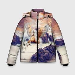 Куртка зимняя для мальчика Sea Sunset Horse цвета 3D-черный — фото 1