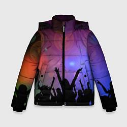 Детская зимняя куртка для мальчика с принтом Пати, цвет: 3D-черный, артикул: 10207798106063 — фото 1