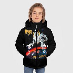 Куртка зимняя для мальчика Ария цвета 3D-черный — фото 2