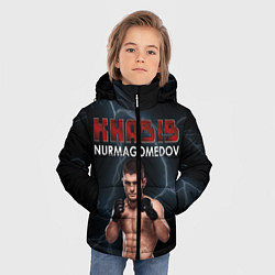 Куртка зимняя для мальчика ХАБИБ цвета 3D-черный — фото 2