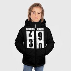 Куртка зимняя для мальчика OLDOMETR 30 лет цвета 3D-черный — фото 2
