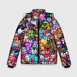 Зимняя куртка для мальчика BRAWL STATS ВСЕ ПЕРСОНАЖИ
