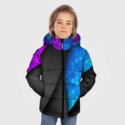 Куртка зимняя для мальчика Bona Fide цвета 3D-черный — фото 2