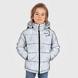 Куртка зимняя для мальчика Delos цвета 3D-черный — фото 2