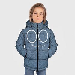 Куртка зимняя для мальчика Imagine John Lennon цвета 3D-черный — фото 2