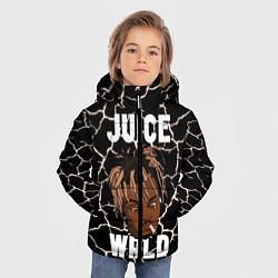 Детская зимняя куртка для мальчика с принтом Juice WRLD, цвет: 3D-черный, артикул: 10212973906063 — фото 2