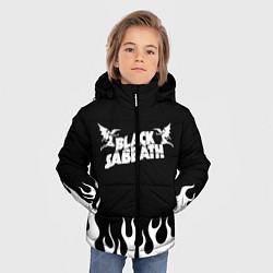 Куртка зимняя для мальчика Black Sabbath цвета 3D-черный — фото 2