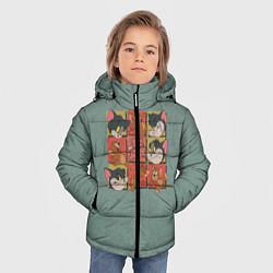 Куртка зимняя для мальчика Cube Tom & Jerry цвета 3D-черный — фото 2
