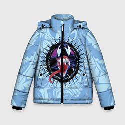 Куртка зимняя для мальчика Venom цвета 3D-черный — фото 1