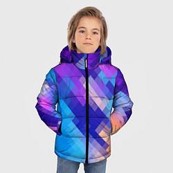 Куртка зимняя для мальчика Пикси цвета 3D-черный — фото 2