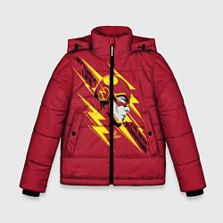 Куртка зимняя для мальчика The Flash цвета 3D-черный — фото 1