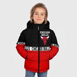 Куртка зимняя для мальчика CHICAGO BULLS цвета 3D-черный — фото 2