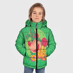 Детская зимняя куртка для мальчика с принтом Minnie Mouse OMG, цвет: 3D-черный, артикул: 10250079106063 — фото 2