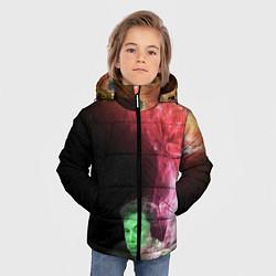 Куртка зимняя для мальчика ПРИШЕЛЕЦ цвета 3D-черный — фото 2