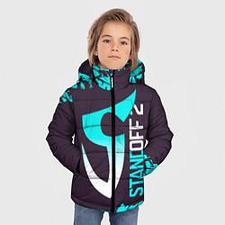 Куртка зимняя для мальчика STANDOFF 2 СТАНДОФФ 2 цвета 3D-черный — фото 2