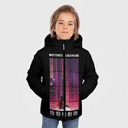 Куртка зимняя для мальчика Призрак в доспехах цвета 3D-черный — фото 2