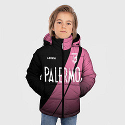 Куртка зимняя для мальчика PALERMO FC цвета 3D-черный — фото 2
