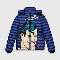 Куртка зимняя для мальчика Superman! - фото 1