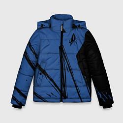 Куртка зимняя для мальчика Star Trek цвета 3D-черный — фото 1