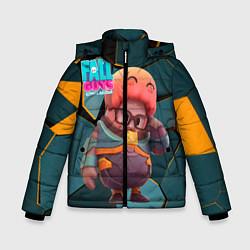 Куртка зимняя для мальчика Fall Guys Gordon Freeman цвета 3D-черный — фото 1