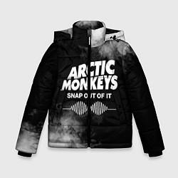 Куртка зимняя для мальчика Arctic Monkeys цвета 3D-черный — фото 1