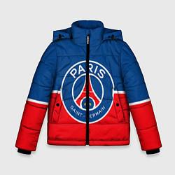 Куртка зимняя для мальчика FC PSG цвета 3D-черный — фото 1