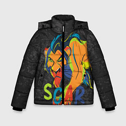 Куртка зимняя для мальчика Scar: The Lion King цвета 3D-черный — фото 1