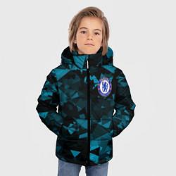 Куртка зимняя для мальчика Chelsea Челси цвета 3D-черный — фото 2
