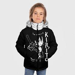 Куртка зимняя для мальчика Kirito цвета 3D-черный — фото 2