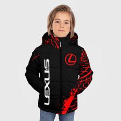 Куртка зимняя для мальчика LEXUS ЛЕКСУС цвета 3D-черный — фото 2